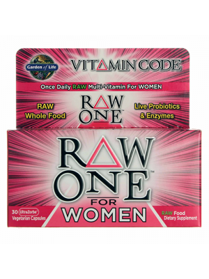 Garden of Life Vitamin Code Raw One for Women 30 Caps