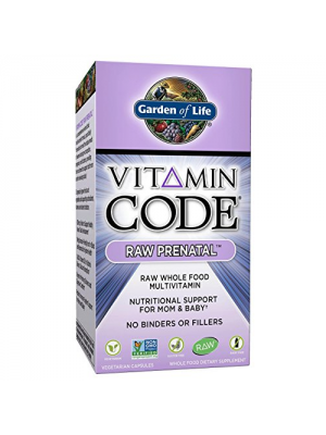 Garden of Life Vitamin Code Raw Prenatal 180 Caps