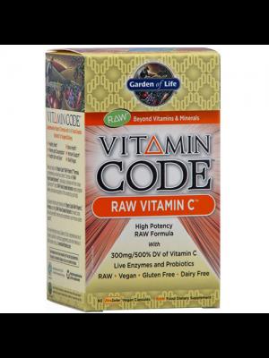 Garden of Life Vitamin Code Raw Vitamin C 120 Vege Caps