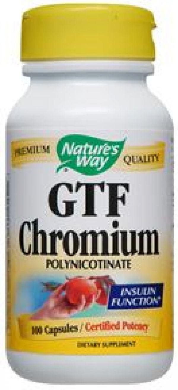 200mcg Chromium Polynicotinate