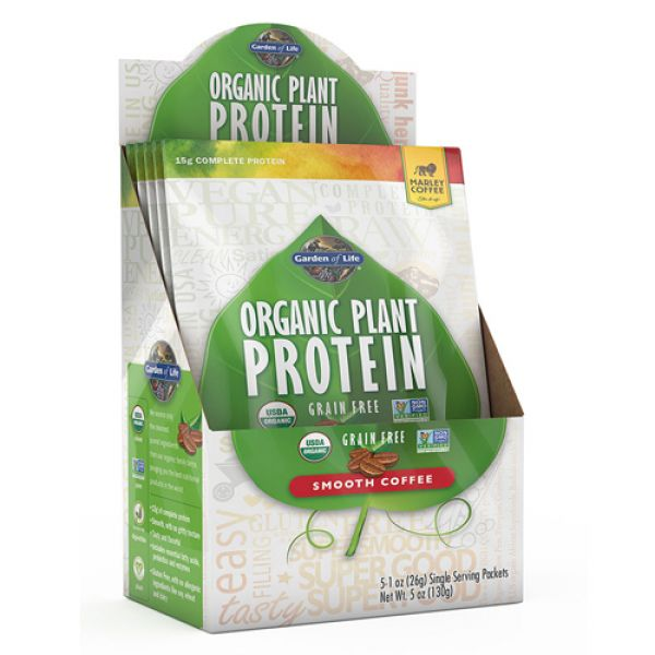 2Garden of Life Organic Plant Protein 5 Packet