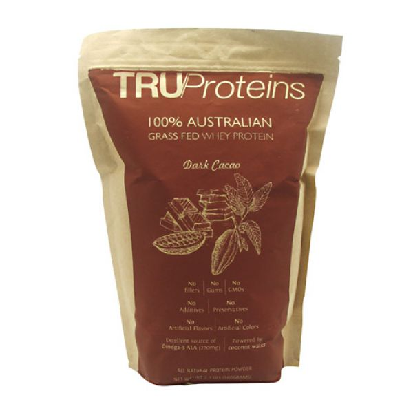 Truproteins 100% Grass Fed Whey 2 Lbs