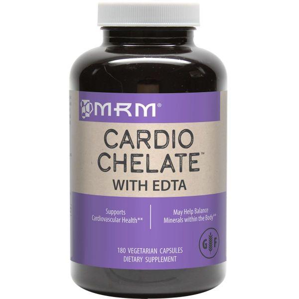 MRM Cardio Chelate with EDTA 650mg 180 VegeCaps Front