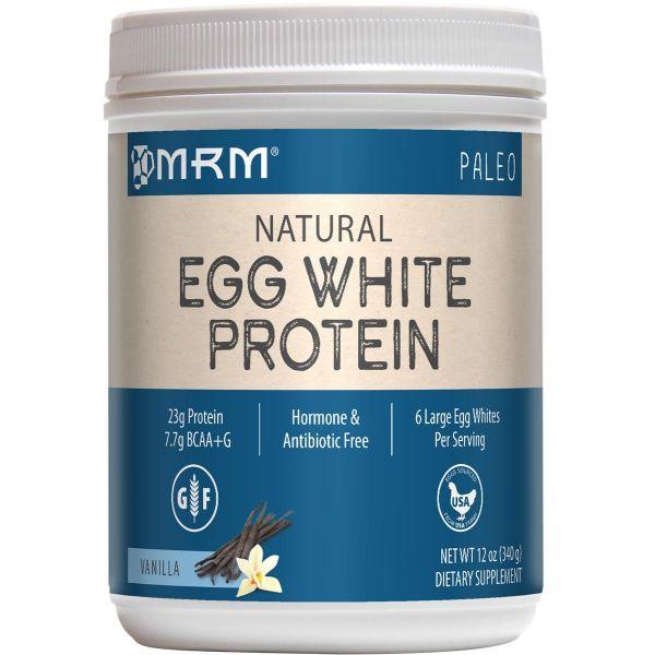 MRM All Natural Egg White 12 Oz front