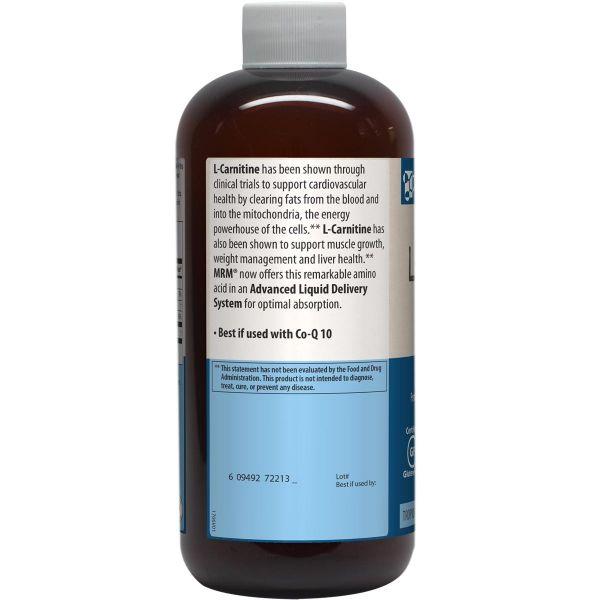 MRM L-Carnitine 17 fl oz Info