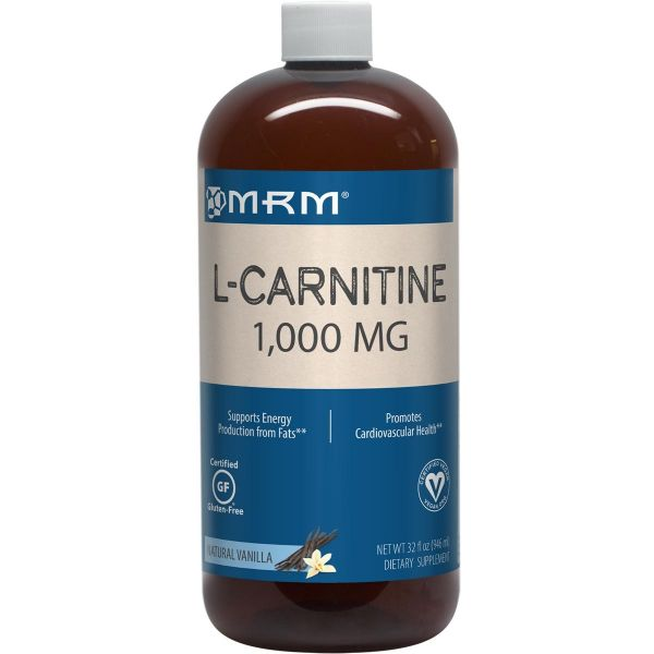 L-Carnitine 1000 32 fl oz Front