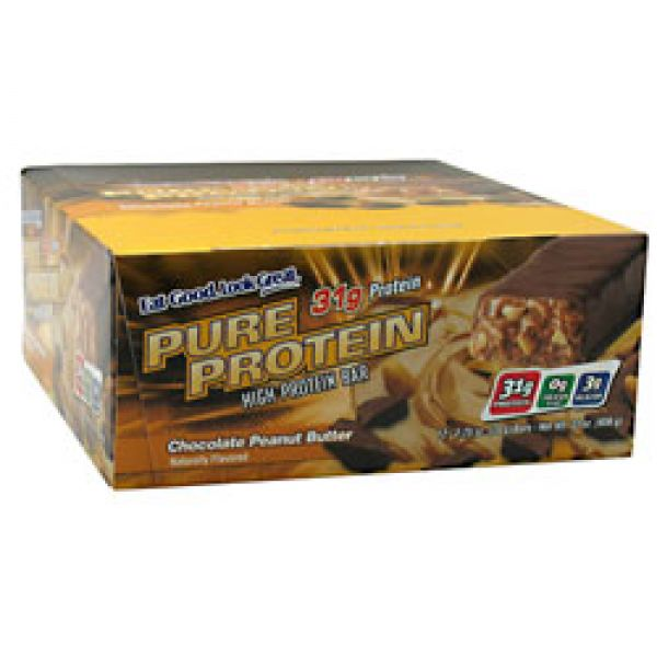 WorldWide Pure Protein Bar 12/Box