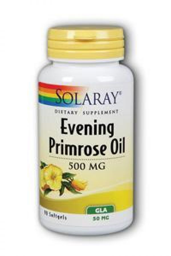 Solaray Evening Primrose Oil 500mg 180 Gels