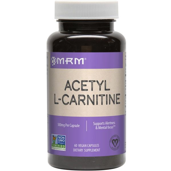 MRM Acetyl L-Carnitine Front 500mg