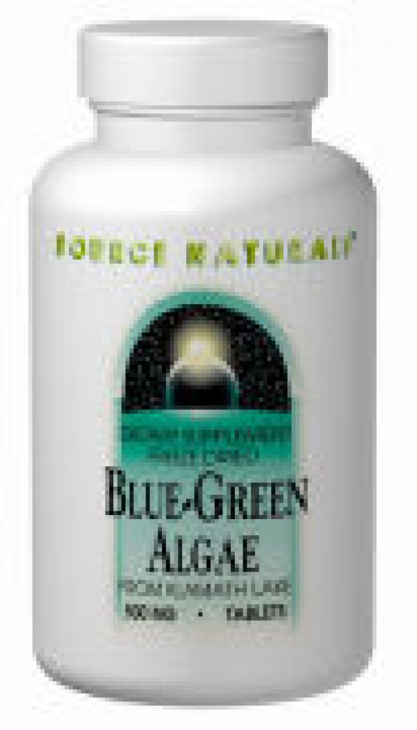 Source Naturals Blue-Green Algae 500mg 100 Tabs
