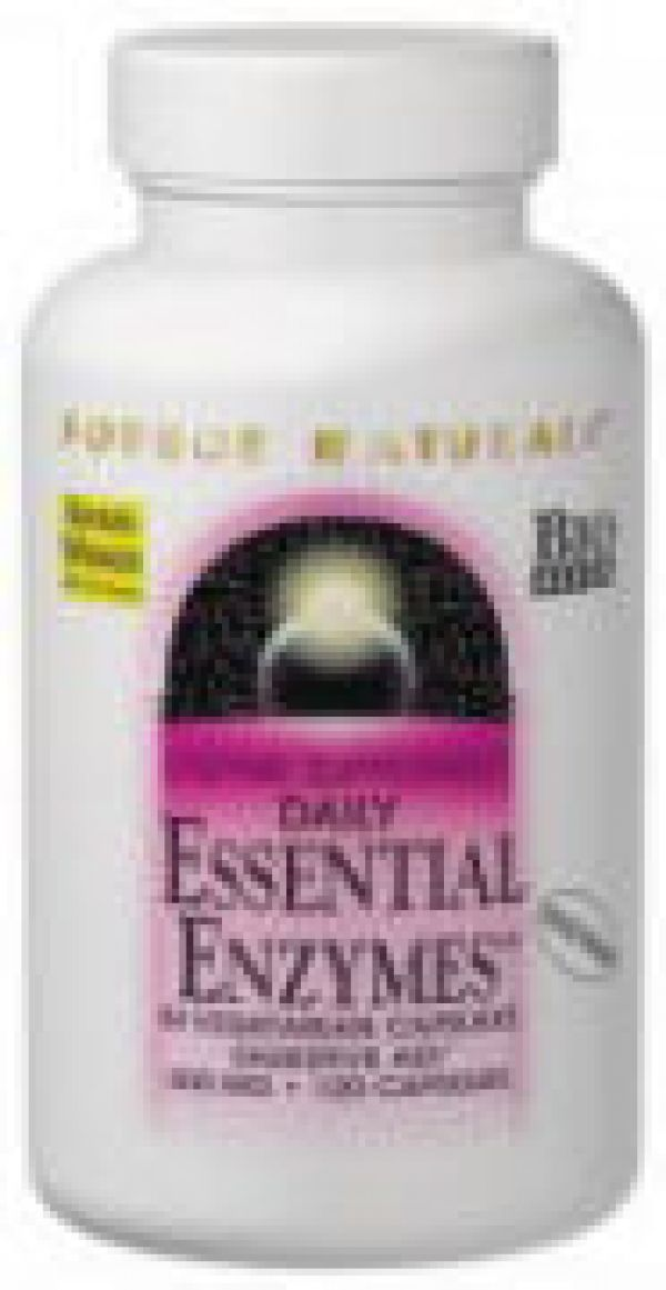 Source Naturals Essential Enzymes 60 Capsules