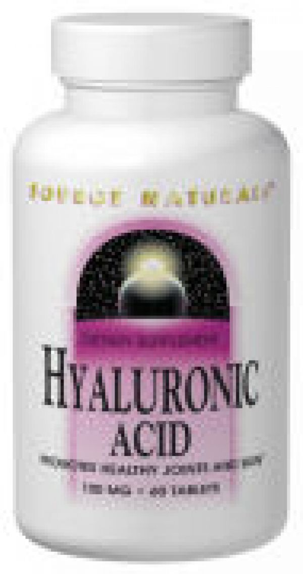 Source Naturals Hyaluronic Acid 100mg 60 Tabs