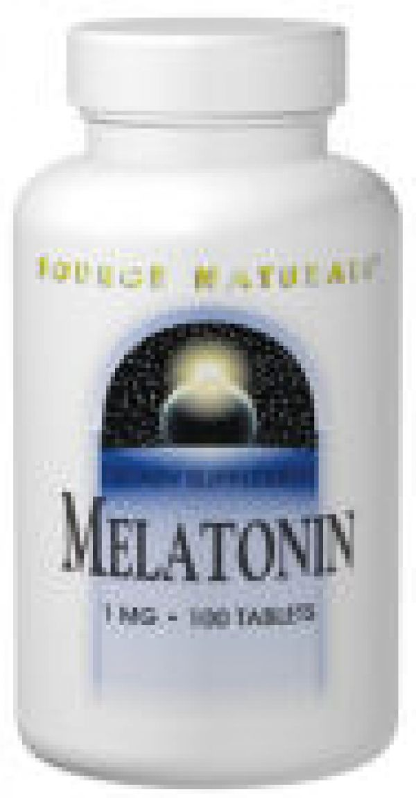 Source Naturals Melatonin Sublingual Peppermint 2.5mg 60 Tablets