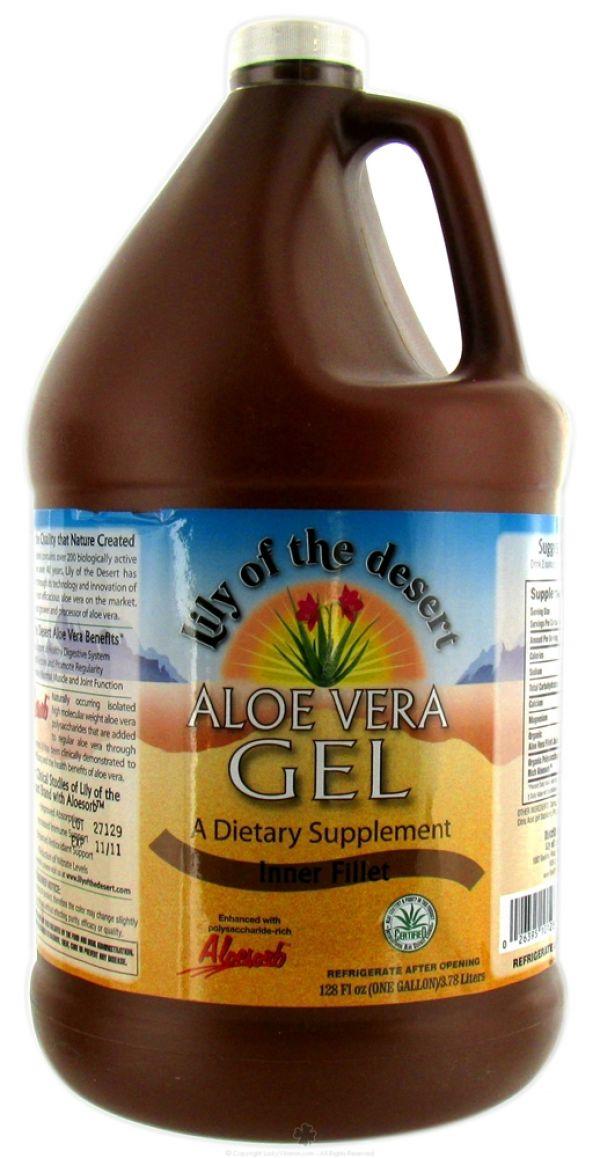 Aloe Vera Gel 1 Gallon