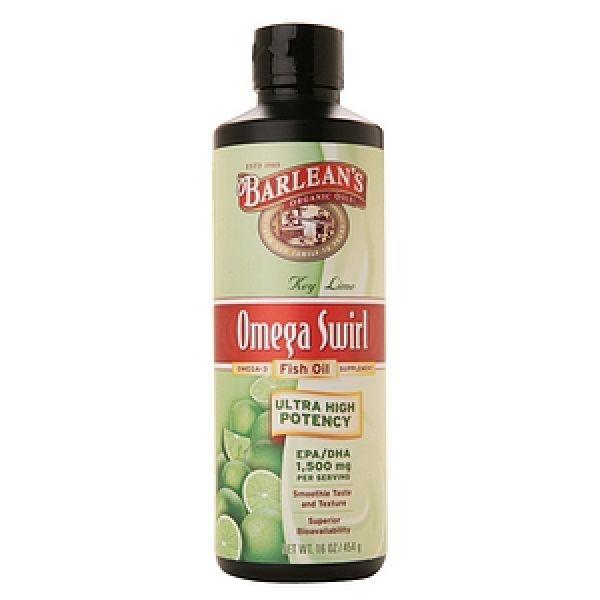 Barlean 39 s omega swirl ultra high potency fish oil citrus for Barlean s omega swirl fish oil