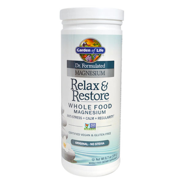 Garden of life relax restore 13 4 oz for Garden of life relax and restore
