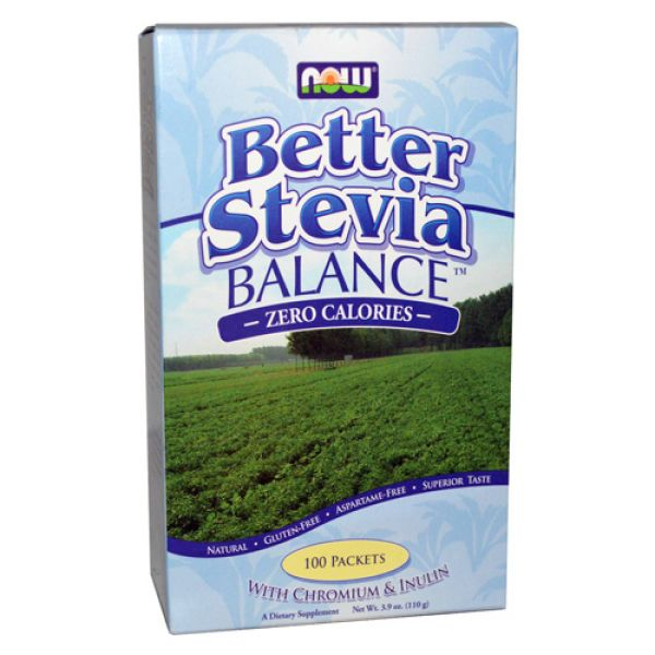 Now Foods Stevia Balance Packets 100/Box