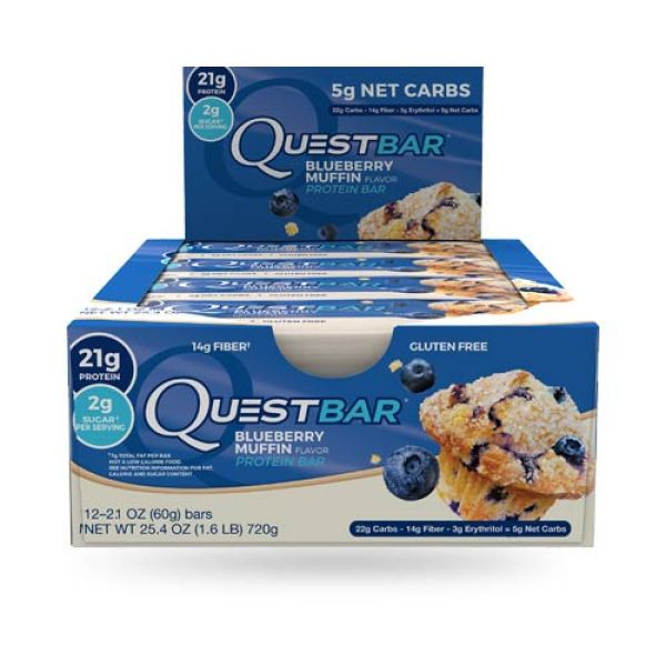 Blueberry Muffin Quest Bars