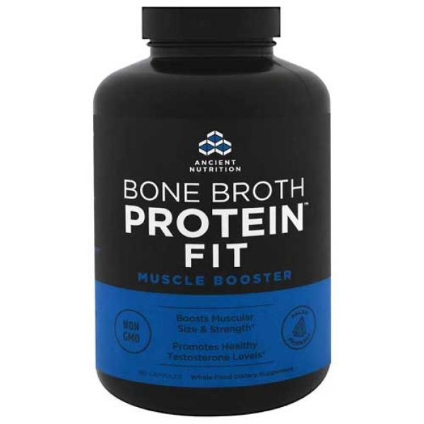 Ancient Nutrition Bone Broth Muscle Fit Capsules