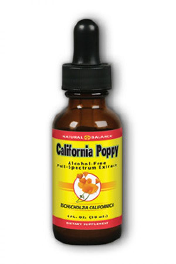 Natural Balance California Poppy Extract 1 Fl Oz