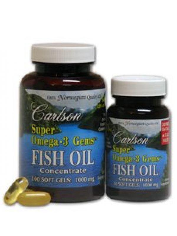 Carlson super omega 3 1000mg 130 fish gelatin softgels for Carlson fish oil review