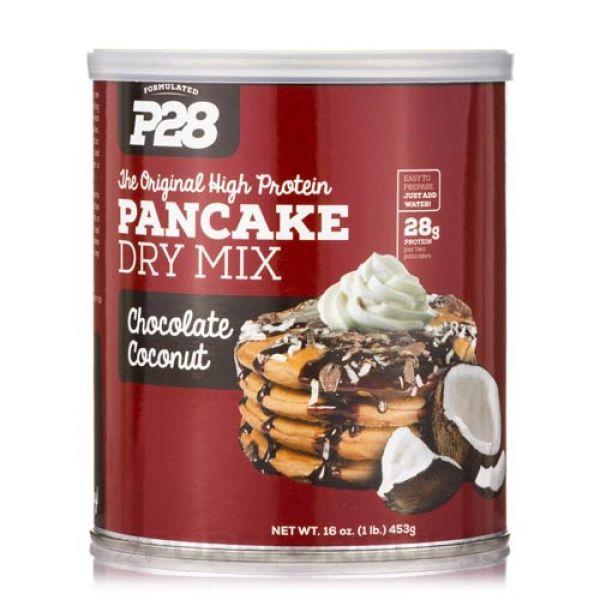 P28 Pancake Mix Chocolate Coconut 16 Oz