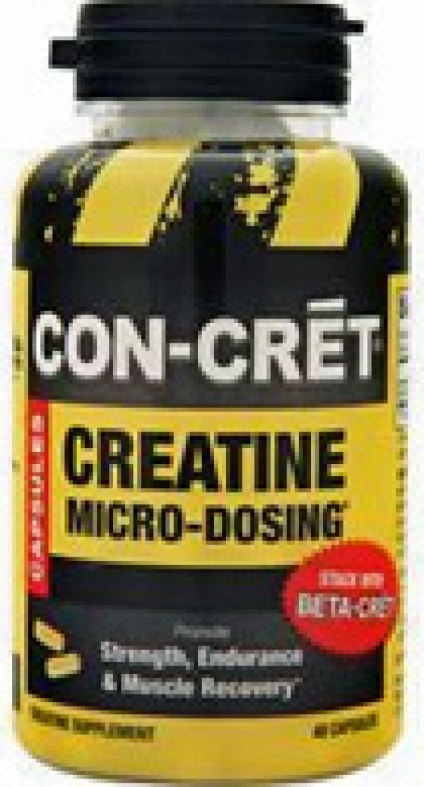 CON-CRET Concentrated Creatine 48 Caps