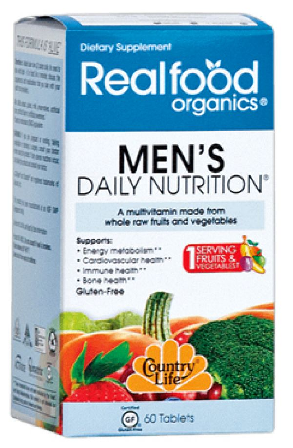 Country Life Realfood Organics Men's Daily Nutrition