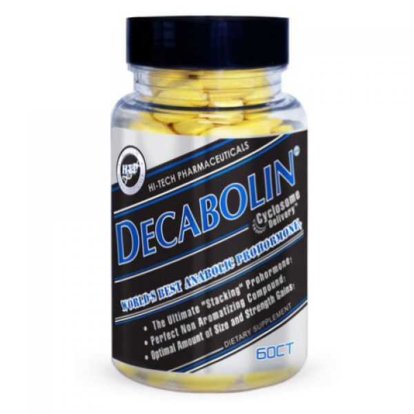 Hi-Tech Pharmaceuticals Decabolin 60CT