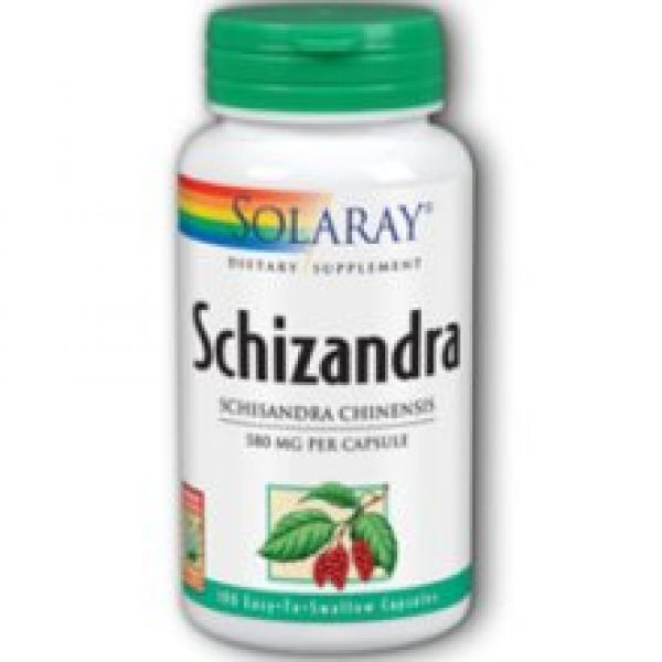 Solaray Schizandra Berries 580mg