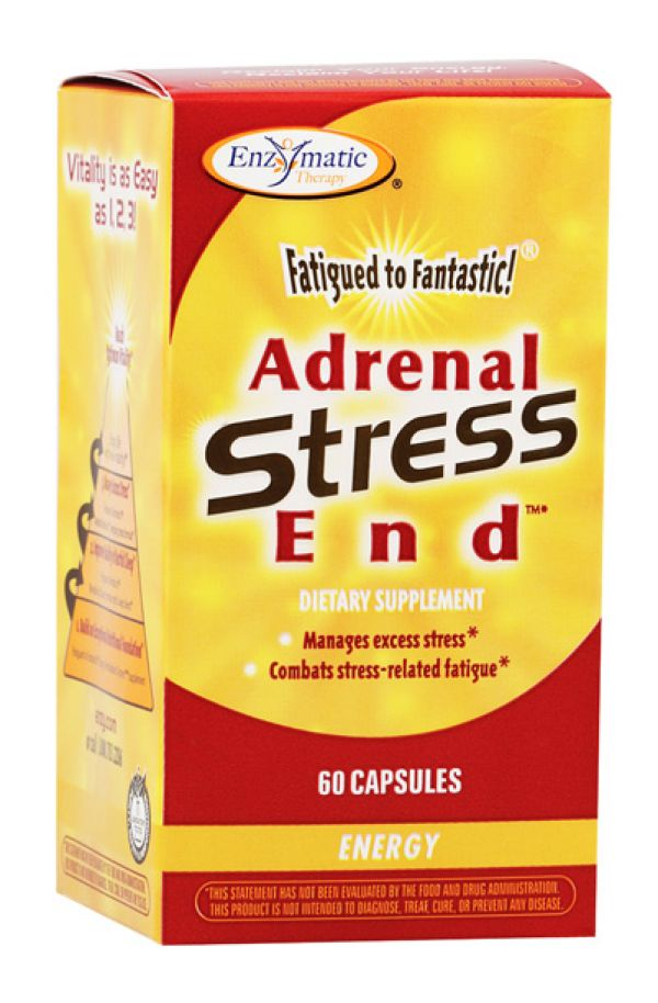 Enzymatic Therapy Adrenal Stress End 60 Capsules