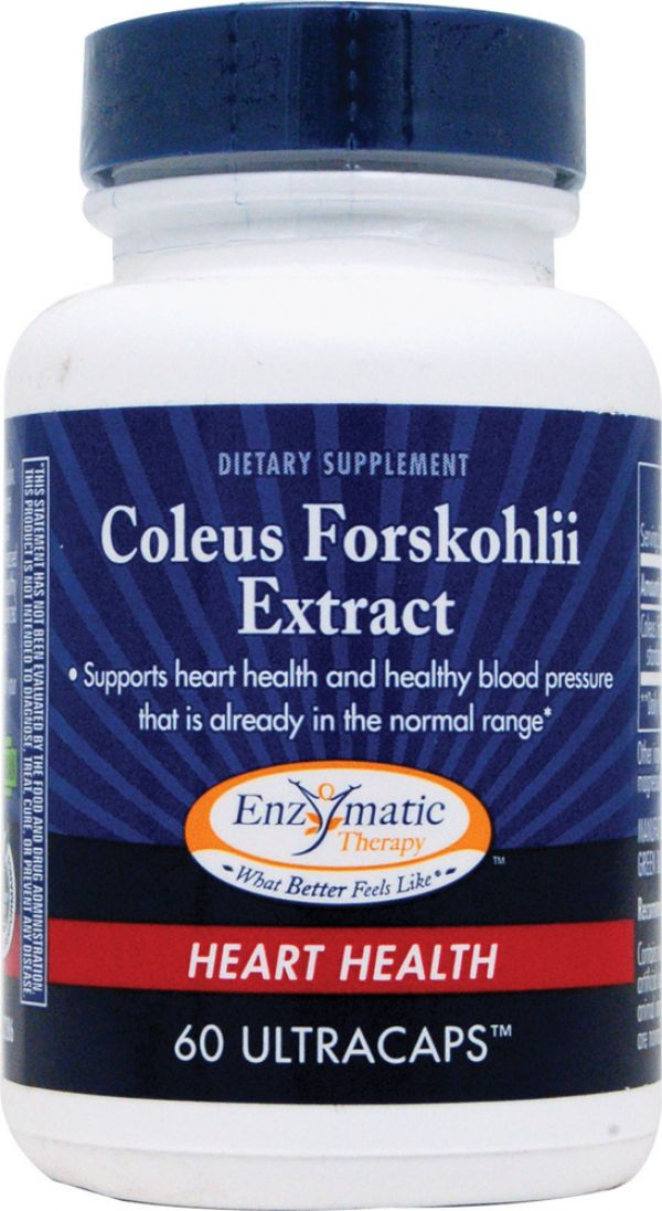 Enzymatic Therapy Coleus Forskolin