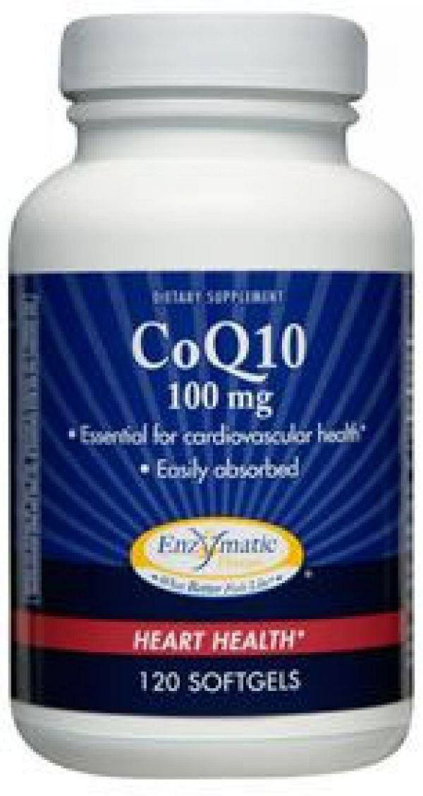 Enzymatic Therapy CoQ-10 100mg 120 Softgels