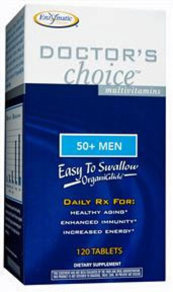 Enzymatic Therapy Doctor's Choice 50+ Men 120 Tablets