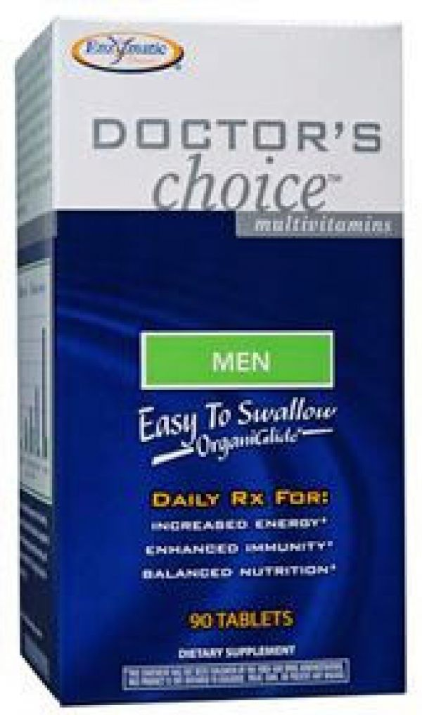 Enzymatic Therapy Doctor's Choice For Men 90 Tablets