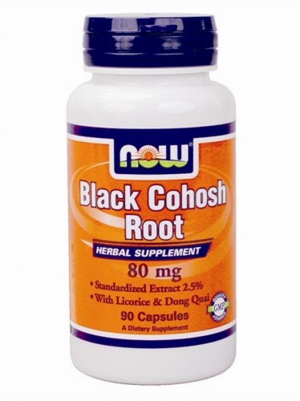 Now Foods Black Cohosh Root 80mg