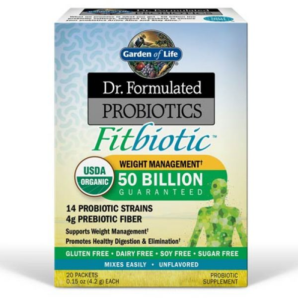 Dr Formulated Fitbiotic 20 Packets Weight Loss