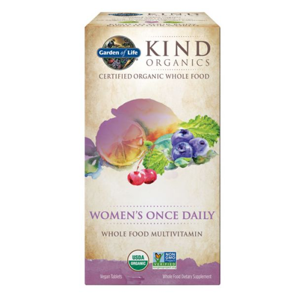 Garden Of Life Kind Organics Women 39 S Once Daily 30 Tabs
