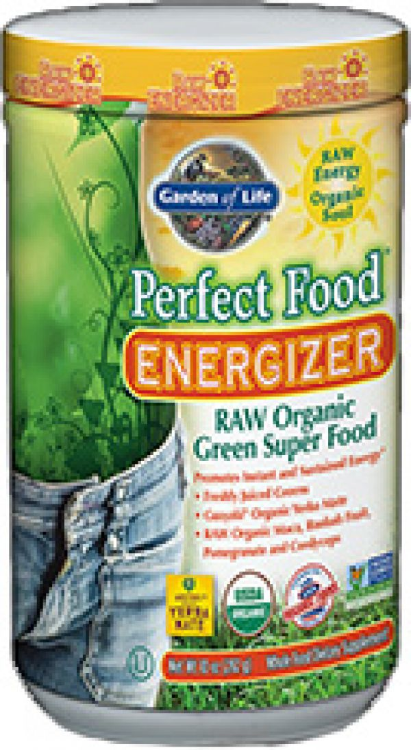 Garden of Life Perfect Food Raw (Organic) Energizer 282 Grams
