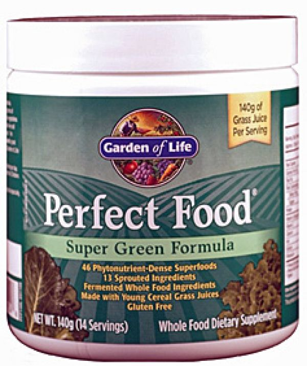 Garden of Life Perfect Food Super Green Formula 140 Grams