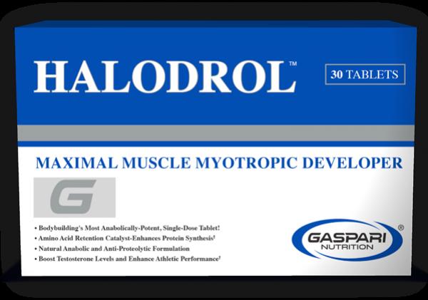 Gaspari Nutrition Halodrol 30 Tabs
