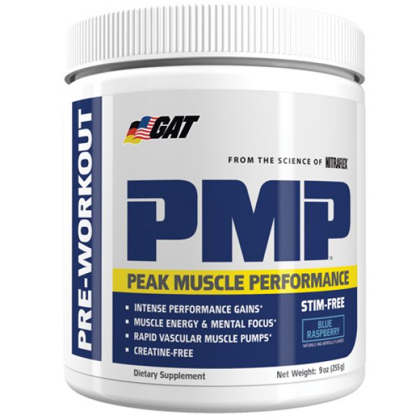 GAT PMP Blue Raspberry Stim Free 255 Grams