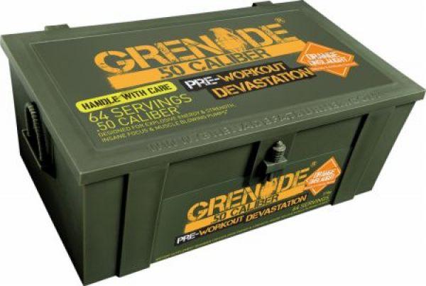 Grenade 50 Caliber Pre Workout