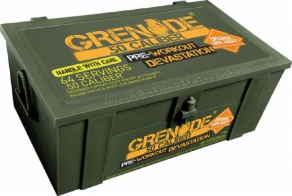 Grenade 50 Caliber 10 Servings
