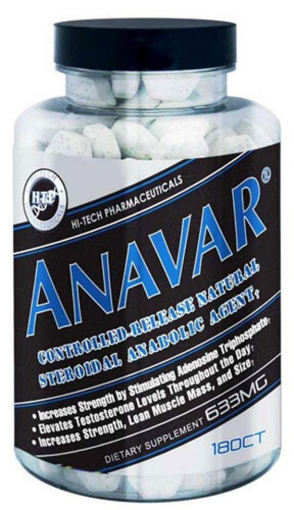 Hi-Tech Pharmaceuticals Anavar 180 Tabs