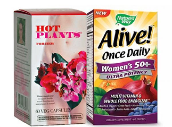 Hot Plants for Her + Alive 1 Daily Women 50+