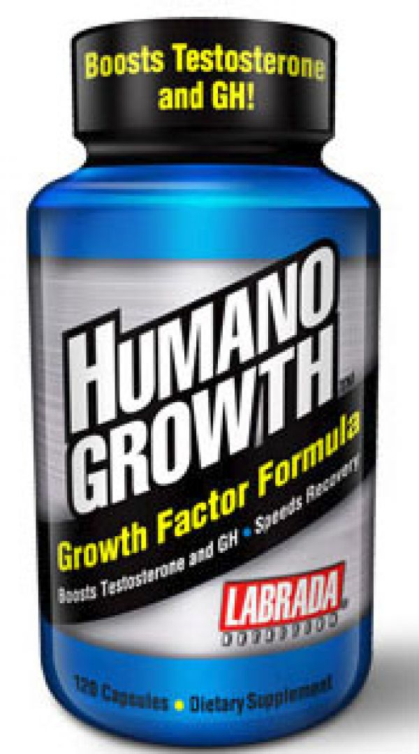 Labrada Nutrition HumanoGrowth 120 Caps