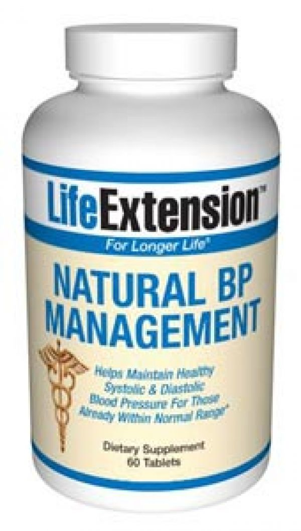 Life Extension Natural BP Management 60T