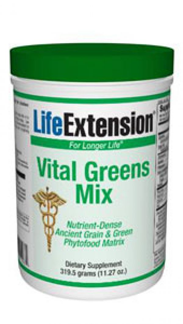 Life Extension Vital GreensMix 319.5 grams (11.27 oz.)