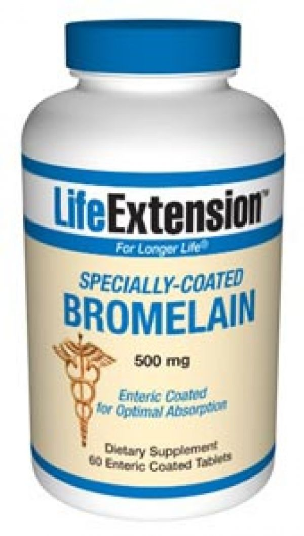 Life Extension Bromelain 500mg 60 Caps (For Cellulite)